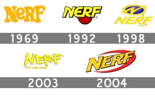 history NERF logo