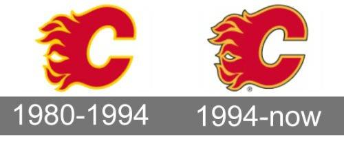 Calgary Flames Logo history