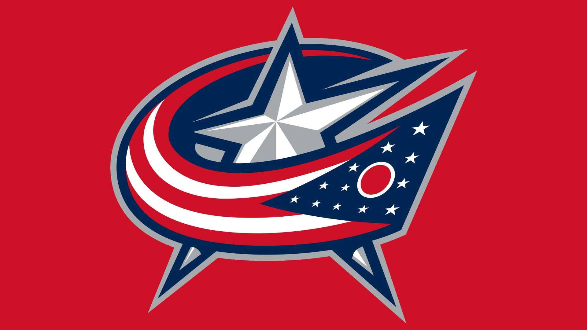 Columbus Blue Jackets Emblem on Pantone Color Scheme