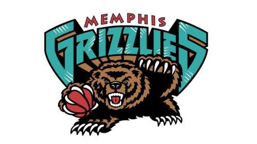 Memphis Grizzlies Logo Old