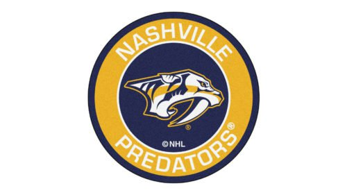 Nashville Predators Logo Colors