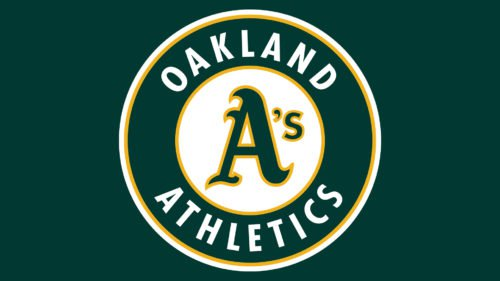 Oakland Athletics Logo Color