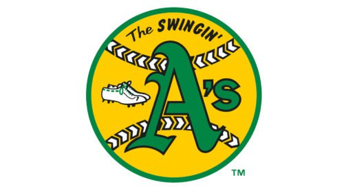 Oakland Athletics Logo Old
