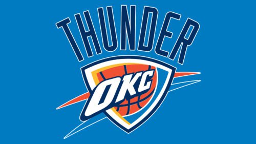 Oklahoma City Thunder Logo Color