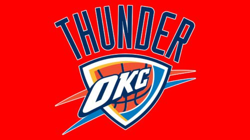 Oklahoma City Thunder Logo Old