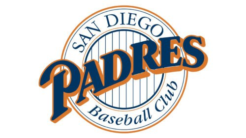 Old Logo San Diego Padres