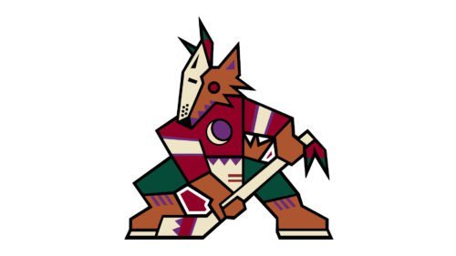 Old logo Arizona Coyotes