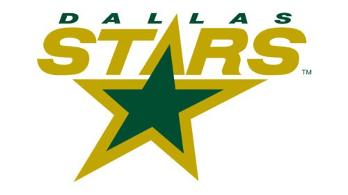 Old logo Dallas Stars