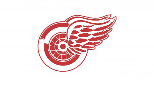 Old logo Detroit Red Wings
