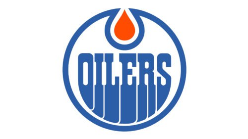 Old logo Edmonton Oilers