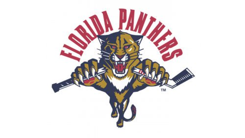 Old logo Florida Panthers