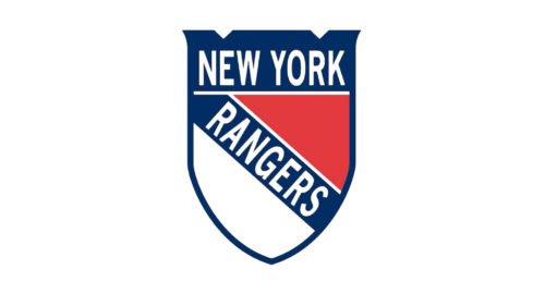 Old logo New York Rangers