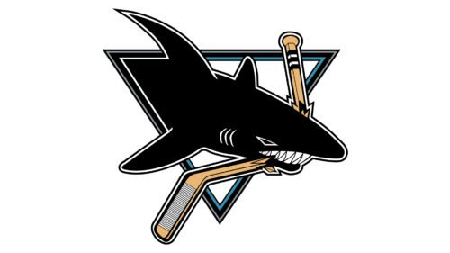 Old logo San Jose Sharks