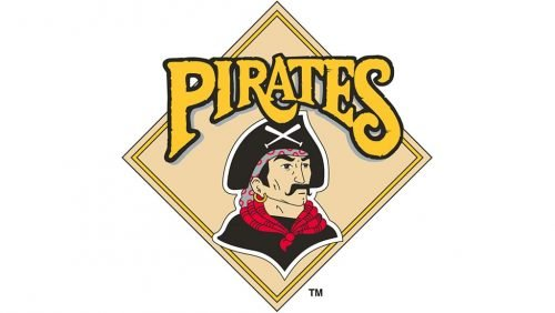 Pittsburgh Pirates Logo 1987