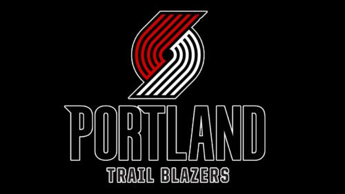 Portland Trail Blazers Logo Color
