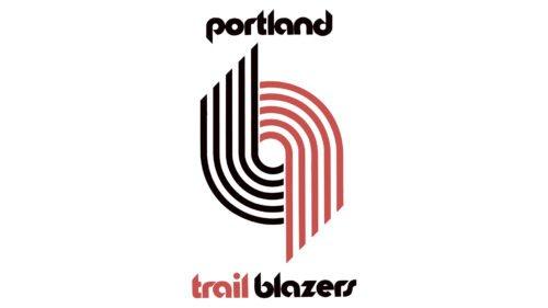 Portland Trail Blazers Logo Old