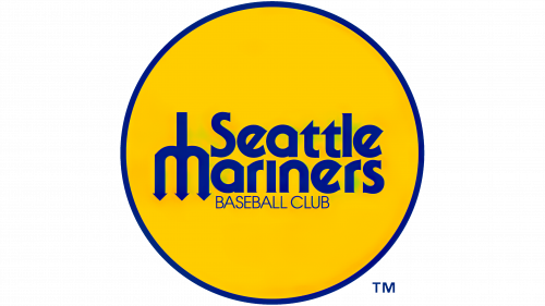 Seattle Mariners Logo 1977