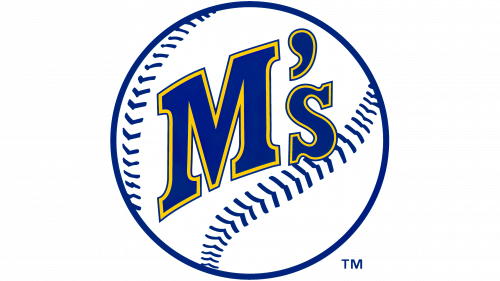 Seattle Mariners Logo 1987