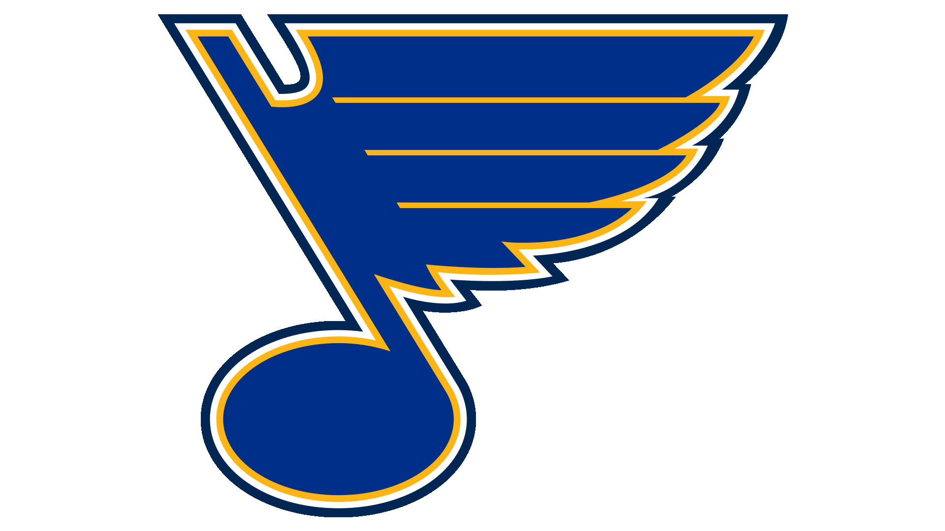 St Louis History In Black And White: Meaning St. Louis Blues Logo And Symbol