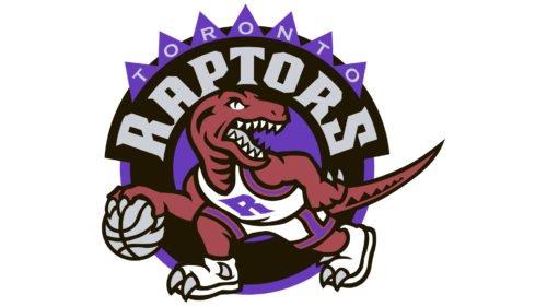 Toronto Raptors Logo Old