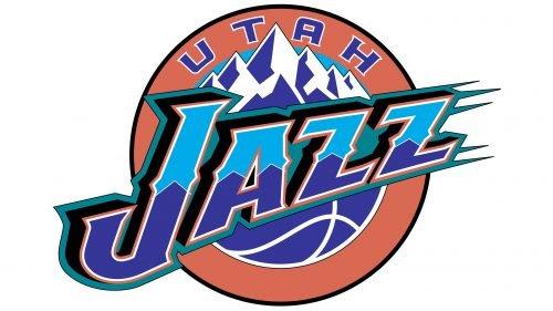 Utah Jazz Logo 1996
