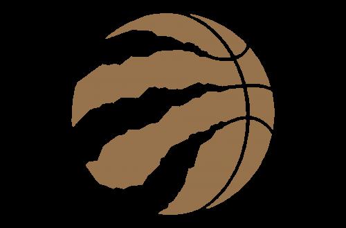 Toronto Raptors logo gold