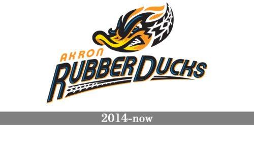Akron RubberDucks Logo history
