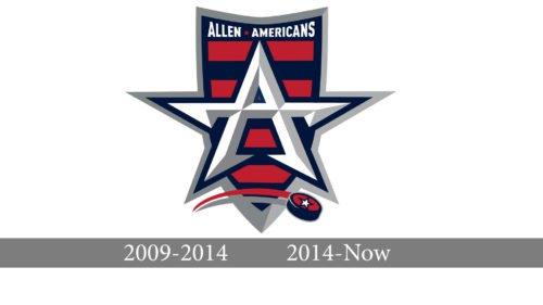 Allen Americans Logo history