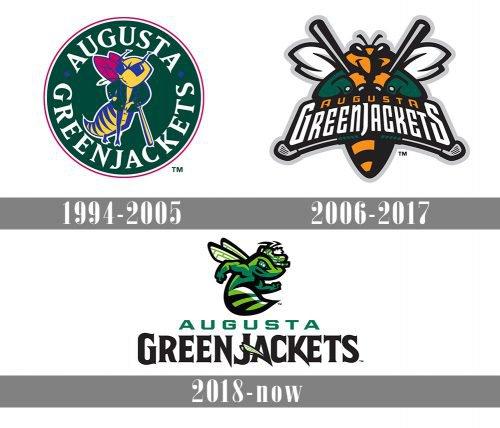 Augusta GreenJackets Logo history