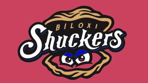 Biloxi Shuckers logo baseball