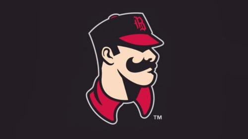 Birmingham Barons logo baseball