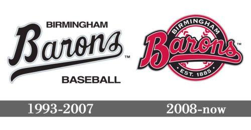 Birmingham Barons logo history