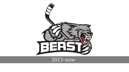 Brampton Beast Logo history