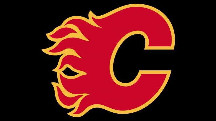 Calgary Flames Logo 1994
