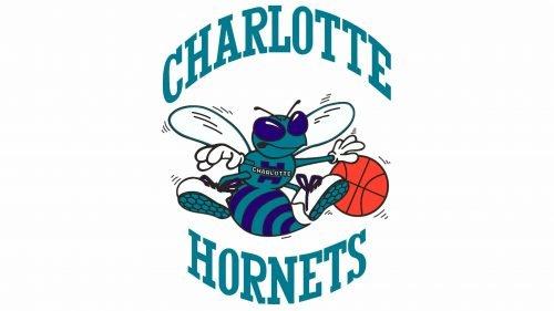 Charlotte Hornets Logo 1989