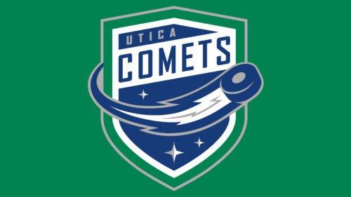 Color Utica Comets Logo