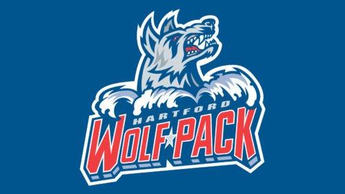 Colors Hartford Wolf Pack Logo