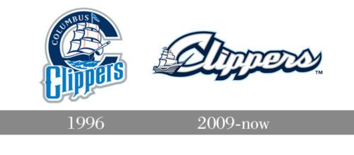 Columbus Clippers Logo history