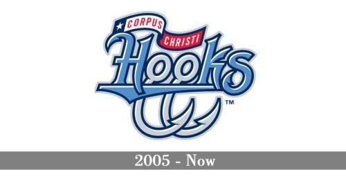 Corpus Christi Hooks Logo history
