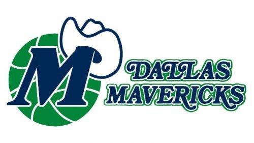 Dallas Mavericks Logo 1980