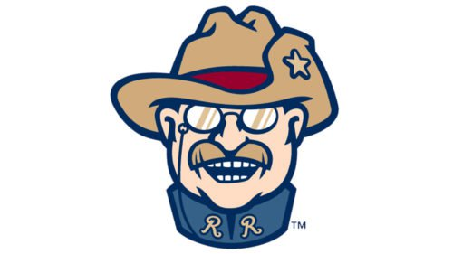 Frisco RoughRiders Logo baseball