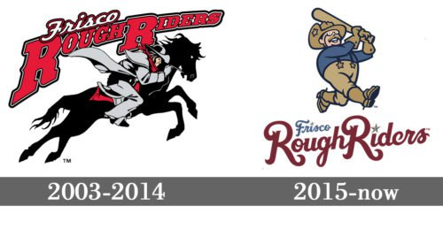 Frisco RoughRiders Logo history