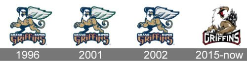 Grand Rapids Griffins Logo history