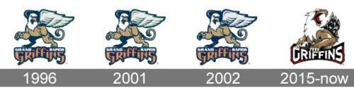 Grand Rapids Griffins Logo history