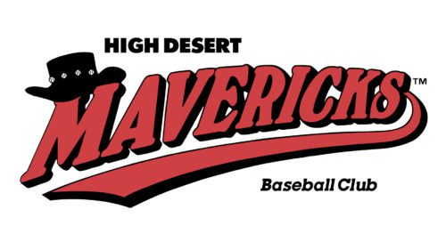 High Desert Mavericks Logo baseball