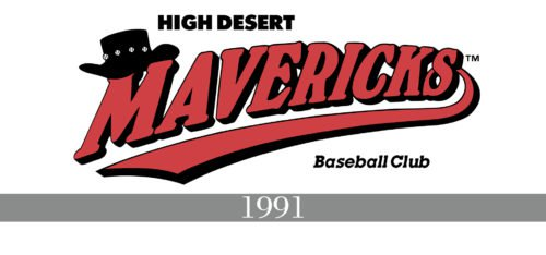 High Desert Mavericks Logo history