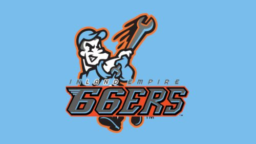 Inland Empire 66ers Logo baseball