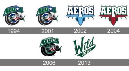 Iowa Wild Logo history