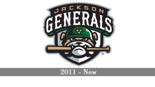 Jackson Generals Logo history