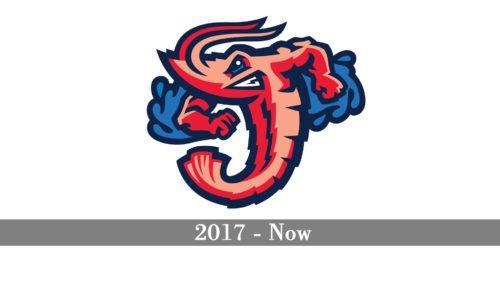 Jacksonville Jumbo Shrimp Logo history